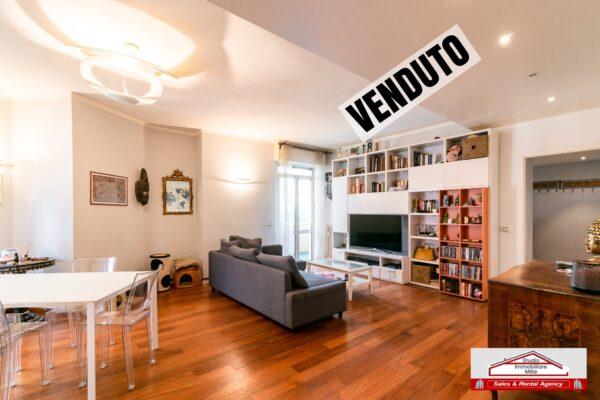 Appartamento di 95 mq. con terrazzino