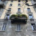Trilocale con balcone via Bronzetti